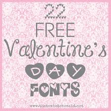 22 Free Valentines Day Fonts