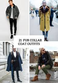 21 elegant fur collar coat for men styleoholic