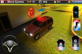 100 Fire Truck Parking Games 3D 1mobilecom