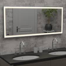 infranomic spiegelheizungen mit led beleuchtung der