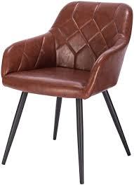 leatherette dining chair aras model