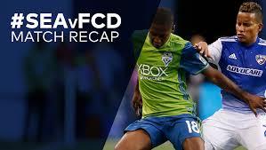 Jon Zimmerman Front Desk by Match Recap Fc Dallas 0 Seattle Sounders Fc 4 10 15 17 Fc Dallas