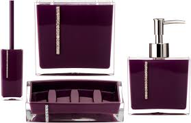 accessories pleasant let purple bathroom accessories glorify