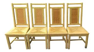 1970s Vintage Henry Link For Lexington Wrapped Wicker/Rattan Dining Chairs-  Set Of 4 Modway Endeavor Outdoor Patio Wicker Rattan Ding Armchair Hospality Kenya Chair In Black Desk Chairs Byron Setting Aura Fniture Excellent For Any Rooms Bar Harbor Arm Model Bhscwa From Spice Island Kubu Set Of 2 Hot Item Hotel Home Office Modern Garden J5881 Dark Leg