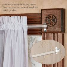 Decorative Traverse Curtain Rods With Pull Cord by Decorative Rods And Tiebacks Touch Of Class