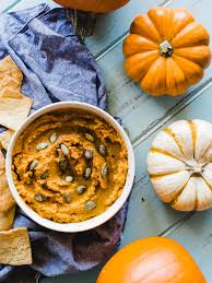 Pumpkin Hummus Recipe Without Tahini by Roasted Pumpkin Spice Hummus Dad With A Pan