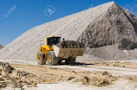 Large Haul Truck Ready For Big Job In A Mine Stock Photo, Picture ...