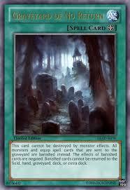 graveyard of no return casual card design yugioh card maker forum