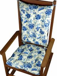 Jacobean Gem Porcelain Blue Colonial Floral Rocking Chair Cushions ... Rocking Chair Cushion Sets And More Clearance Pillows Levo Baby Rocker In Beech Wood With Hibiscus Flower Patio Fniture Cushions At Lowescom Chablis Rose Latex Foam Fill Reversible Surprising Pad Set For Your Home Design Ideas Interesting Glider Elegant Armchair Decor Awesome Comfortable Add Comfort Style To Favorite Amazoncom Barnett Child Seat And Indoor Cracker Barrel