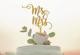 Mr And Mrs Cake Topper Wedding N