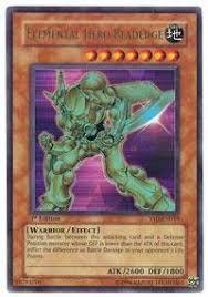 yu gi oh elemental hero bladedge ysd en019 starter deck