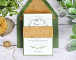 4 Ways To DIY Rustic Wedding Invitations With Wood Paper