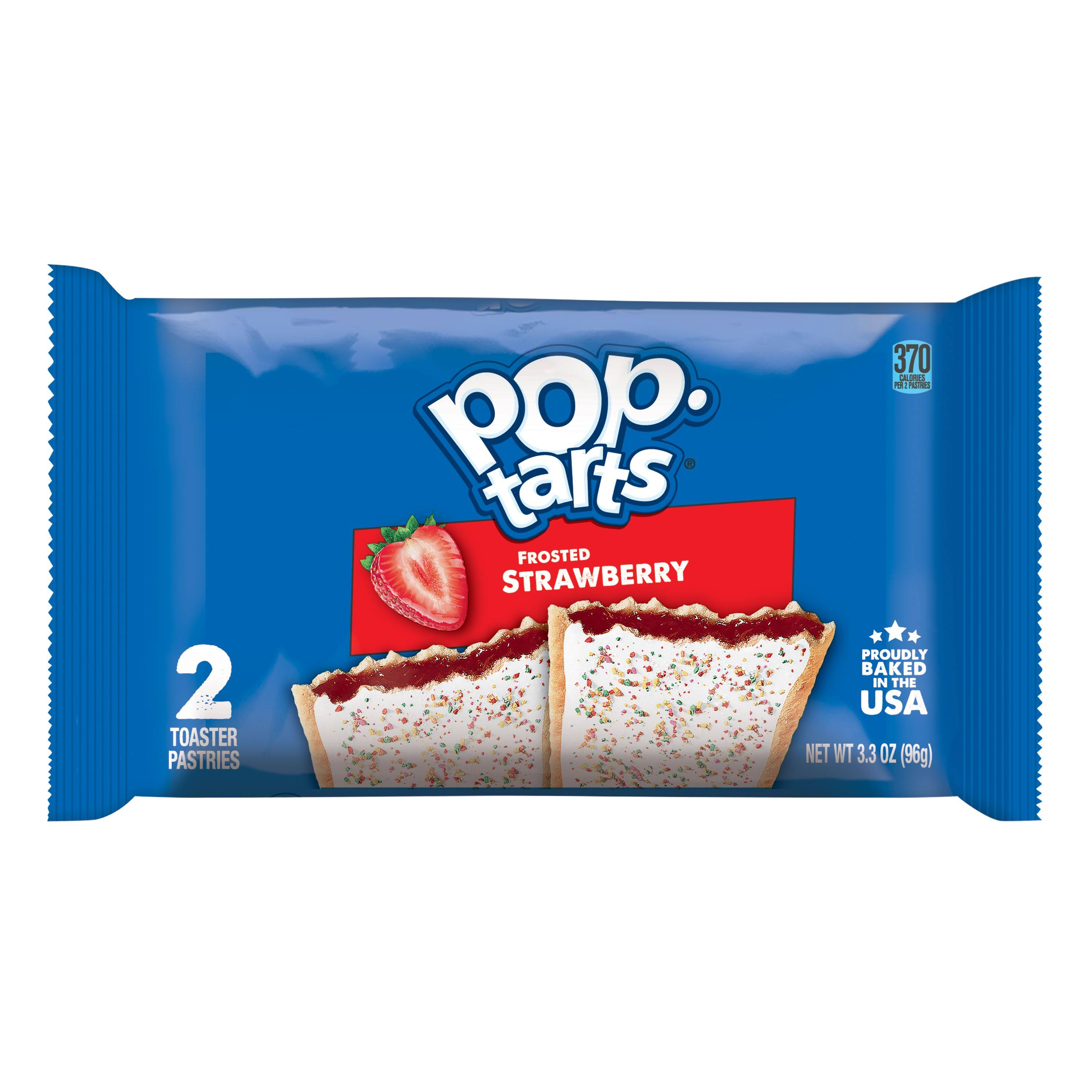 Kellogg's Frosted Pop-tarts - Strawberry, 104g, 2ct