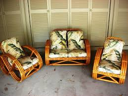 Vintage Bamboo Furniture Style