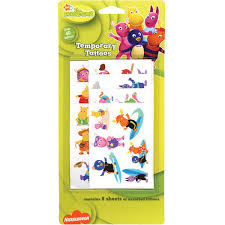 The Backyardigans Temporary Tattoos For Kids 43