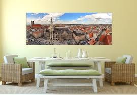 wandbild münchener skyline panorama