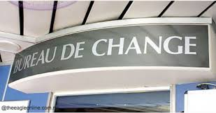 un bureau de change cochange de change