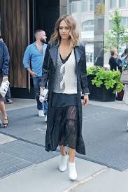 black and white sneakers and skirts black sheer maxi skirt white