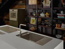 spülen materialien keramik edelstahl und co unter der