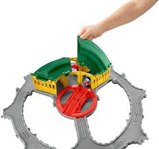 Trackmaster Tidmouth Sheds Playset by Amazon Com Fisher Price Thomas The Train Thomas Adventures