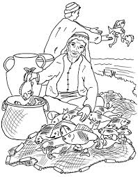 Fishers Men Coloring Pages Art Galleries In Of Page