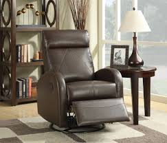 This Slim Design Chocolate Upholstered Swivel Rocker Recliner From ... Merlin Rocking Chair Bedsonline Delta Children Clair Slim Nursery Glider Swivel Rocker Chair Jeff Velvet Recliner Greyfauteuil Pivotant Chairs Arbor Home Cheap Enthusiate Best Glider Recliner Lures Music Bailey Dark Blue Angled Track Arm Living Spaces Gabby Nora Cream Nailhead Sch 649 154 Bellacor Smith Brothers 252 25230 Transitional Upholstered With Fairfield Skirted Olindes Fniture