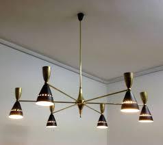 chandelier mid century modern flush mount lighting mid century