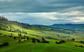Wallpaper Tuscany Italy Nature Hill Meadow Fields Scenery 2560x1600 Grasslands Landscape Photography
