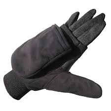 amazon com heat factory pop top mittens with glove liner for