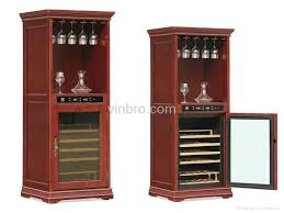 Tresanti Wine Cabinet With 24 Bottle Cooler by Wine Cabinet Cooler Furniture Roselawnlutheran