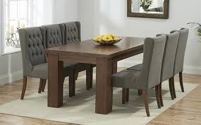 dark wood dining table and chairs sl interior design