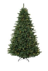 7 Ft White Pre Lit Christmas Tree by 7 U0027 Eastern Spruce Tree With Clear Lights Christmas Tree Market