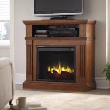 Southern Enterprises Redden Corner Electric Fireplace Tv by Corner Unit Electric Fireplaces Fireplaces The Home Depot