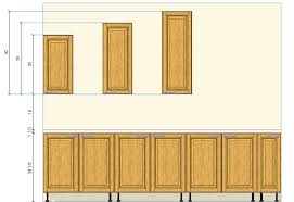 Standard Kitchen Overhead Cabinet Depth by Kitchen Cabinets Sizes U2013 Quicua Com
