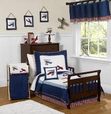 100 Toddler Truck Bedding Vintage Airplanes Boy Comforter 5pc Bed In A