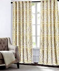 Cynthia Rowley New York Window Curtains by Max Studio Home Geometric Tiles Window Panels 52 By 96 Inch Set Of
