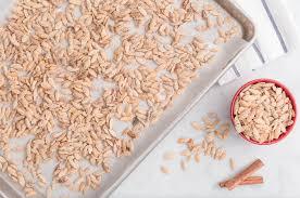 Roasting Pumpkin Seeds In The Oven Cinnamon by 16 Best Roasted Pumpkin Seed Recipes How To Bake Pumpkin Seeds