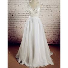 White Wedding DressesLong GownLace GownsTulle Bridal DressWedding Dress With BacklessWhite Brides DressBackless Gowns