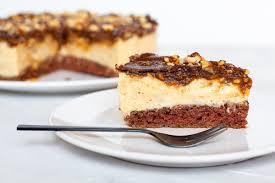 vegane snickers torte