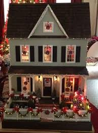 Classy Dollhouse Christmas Lights Battery Operated Tree Led For