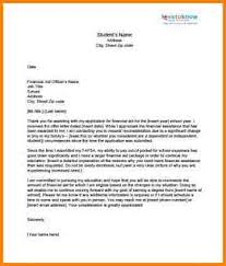 Financial Aid Appeal Letter Sap Appeal Letter Printable Timesheets