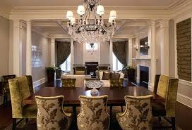 Gold Color Scheme Formal Dining Room Decorating Ideas With Golden Details Chairs Rooms Elegant