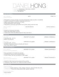Interior Design Resume Template Assistant Interior Design Intern