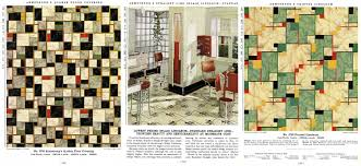 Geometric Linoleum Patterns And A Kitchen Design Using Armstrong Flooring