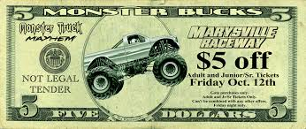$5 Monster Bucks Coupon For Friday Night Only – Marysville ... Monster Jam Crush It Playstation 4 Gamestop Phoenix Ticket Sweepstakes Discount Code Jam Coupon Codes Ticketmaster 2018 Campbell 16 Coupons Allure Apparel Discount Code Festival Of Trees In Houston Texas Walmart Card Official Grave Digger Remote Control Truck 110 Scale With Lights And Sounds For Ages Up Metro Pcs Monster Babies R Us 20 Off For The First Time At Marlins Park Miami Super Store 45 Any Purchases Baked Cravings 2019 Nation Facebook Traxxas Trucks To Rumble Into Rabobank Arena On