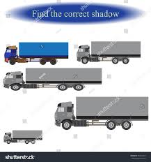 100 Correct Truck And Trailer Find Shadow Children Vector Stock Vector Royalty Free