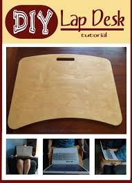 Bean Bag Lap Desks For Adults by Diy No Sew Lap Desk Tutorial Lap Desk Desks And Tutorials