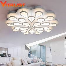 creative peacock ceiling high bright led ceiling l for bedroom