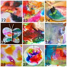 50 Easy Process Art Activities For Kids In