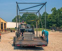 100 Neckover Truck Beds Deer Stand Is Locked And Loaded Trailer